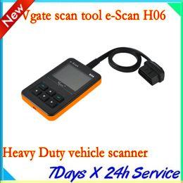 New arrival Vgate scan tool e-Scan H06 Heavy Duty vehicle scanner diesel truck code reader obd ii tester