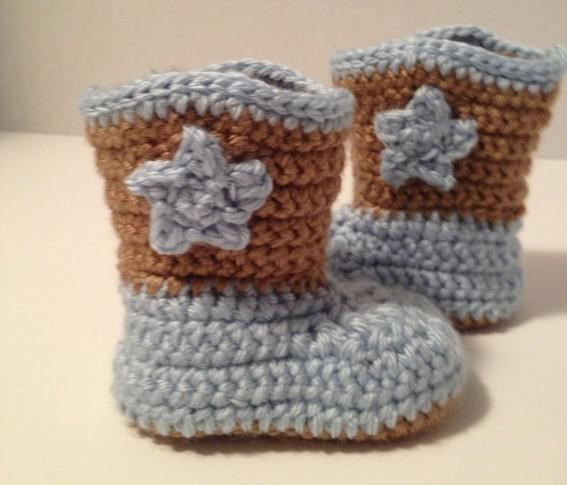 Free Crochet Pattern Baby Cowboy Boots : Pics Photos - Cowboy Hat Boots For Baby Turner