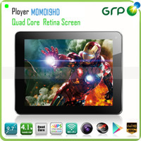 Wholesale inch IPS Retina Capacitive Screen Ployer MOMO19HD Allwinner A31 Quad Core Android Dual Camera Wifi HDMI