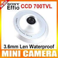 Wholesale 1 quot Sony Super HAD CCD II TVL mm Len Waterproof CCTV Camera The Shape Of UFO Security Camera