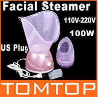 Wholesale Original SKG Beauty Facial Face Sauna Spa Steamer Nose Mist Steam Sprayer Skin Care Moisture H8199