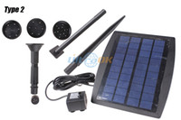 Wholesale 2 W Sun Solar Power Fountain Pool Water Pump Garden Watering