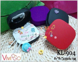 Wholesale automatic cleaning case for contact lens electronic contact lens case colors