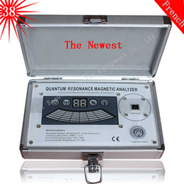 Wholesale 2016 Latest version Quantum Resonance Magnetic Analyzer bio electric body subhealth AE organism analyzer comparative reports