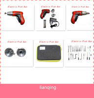 Wholesale Pick gun Lock pick Electric lock Pick Gun New cordless Electric pick gun auto locksmith tool