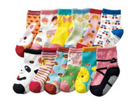baby scoks - BB09 Pairs Fashion Socks baby Children s Girls Boy Scoks Cotton anti Non slip socks Cute for years old