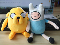 Wholesale Cartoon Network Adventure Time JAKE and FINN Plush Doll Toy Figure inch