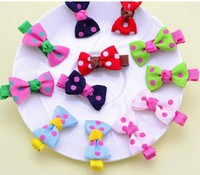 Wholesale New Arrive Fashion Christmas Children headdress Hair bands Children Hairpin The Value For The BB Clip Bow