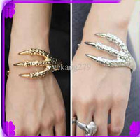 alternative wood - Claw Bracelet Jewelry Punk Style Retro Texture Alternative EagleClaw Bracelets
