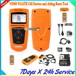 VS900 VGATE Oil Service and Airbag Reset Tool Professional Diagnostic Tool Free Shipping by DHL