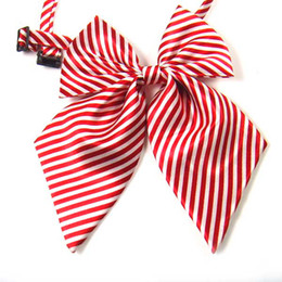 New Arrivals Girls Pre-Tied Adjustable Bow Ties Women Bowties Solid Color Tie Women Neck Wear free shiping