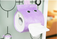 Wholesale Retail cartoon elf Lounged cloth towels pumping tissue storage box drop shipping