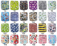 Wholesale New Design Infant Cloth Diapers AIO With Inserts Organic Prints Jctrade Niappies