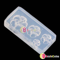 Wholesale Flower D Form Mold Nail Art DIY UV Carve Decoration