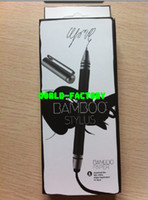Wholesale black Wacom BamBoo Stylus duo capacitance touch stylus pen for tablet pc iphone VIP sale