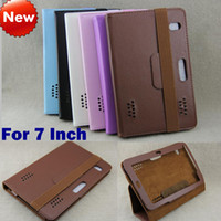 Wholesale 7 inch Tablet Leather Case Cover Universal Flip Protective Leather Case Cover for Inch Android Tablet pc
