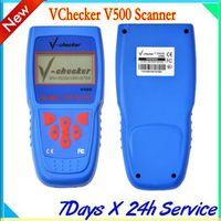 Code Reader auto code checker - V Checker VChecker V500 Scanner Super Car Diagnostic Equipment auto diagnostic tool multilanguage