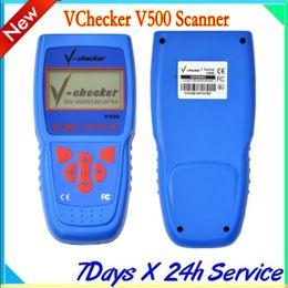 Wholesale V Checker VChecker V500 Scanner Super Car Diagnostic Equipment auto diagnostic tool multilanguage