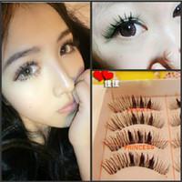 Wholesale Thick Long Fiber False Eyelashes Eyelash Eye Lashes Voluminous Makeup