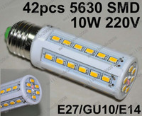 Wholesale O55 Brand New W LED SMD E27 GU10 E14 Corn Light Bulb V Energy Saving Lamp