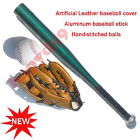 Wholesale free ship kid child baseball Aluminum alloy baseball set baseball bat baseball ball baseball gloves basketball bag