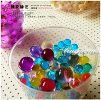 Wholesale COLOR bulk pack grams of crystal soil Very creative Crystal Mud Soil Water Beads gel For plants