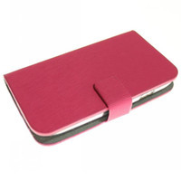 Wholesale 5 color MLT Wallet Credit ID Card Stand Leather Case For Samsung i8190 Galaxy S3 mini