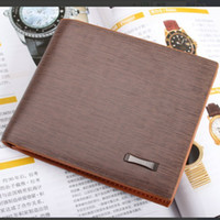 Wholesale 2013 Mens New Luxury High Quality Leather Bifold Wallet Credit Card Holder DX11