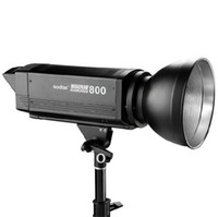 Wholesale New Godox Studio Flash Strobe D Series D800 Photography Lights D flash heads WS Built in cooling fan Photo Flash Light