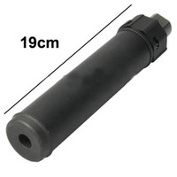 Wholesale 19CM Tactical Aluminum Alloy Gun Muffler Silencer Tube