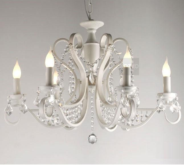 crystal chandelier for bedroom wrought iron via www