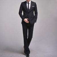 Wholesale British leisure Men s Slim leisure suit men bussinees style american fashion