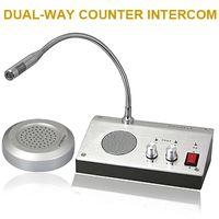 Wholesale ZHUDELE Home Security V V English Version Window Intercom Kit Dual way Intercom System For Counter