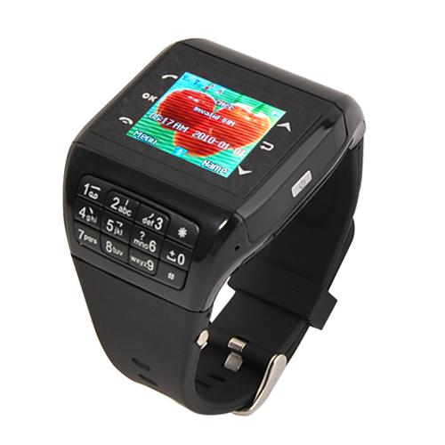 Débloqué Q8 Watch Phone Wrist Mobile Cell Phone écran tactile double carte SIM d