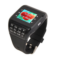 Wholesale Unlocked Q8 Watch Phone Wrist Cell Phone Mobile Dual Sim Card Dual Standby Touch Screen Camera Watch