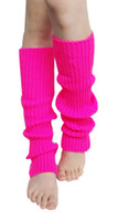 Wholesale Finger less Long Gloves Plain Knitted Leg Warmers Stocking Socks New Fashion Fingerless Arm Mitten Long Sleeve Gloves Women Braid