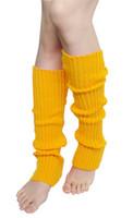 Wholesale Finger less Long Gloves Plain Knitted Leg Warmers Stocking Socks New Fashion Fingerless Arm Mitten Long Sleeve Gloves Women Braid
