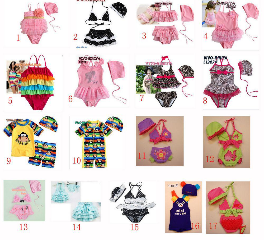 Baby Toddler Kids Girl Boy Cotton Swimwear Infant Newborn ...