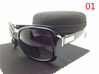 best cloth case - Best selling colors New brand Designer fashion Sport Sunglasses sunglass for women with case cloth