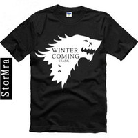 animal house shirts - A Song of Ice and Fire Game of Thrones The House of Stark Wolf T Shirt The winter is coming T Shirt