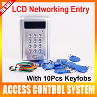 Wholesale LCD Display Networking Entry Door Access Control System