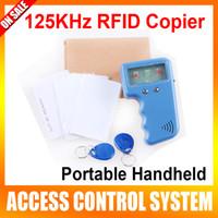 Wholesale Portable Handheld KHz RFID Copier Duplicator Writable Card Keyfobs
