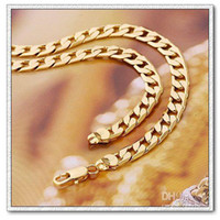 Wholesale N18K Copper with k gold plated chain necklace