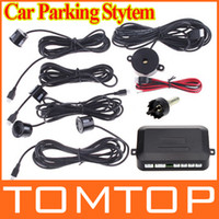 4 Sensor Parking Sensor System  Car Parking Backup Reverse Radar Kit 4LED Parking Sensors Car Parking Sensor System K382 Sound Alert