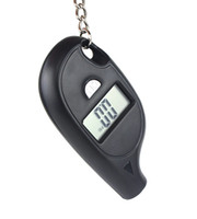 Cheap Mini Digital Car Tire Pressure Gauge Tyre LCD Keychain Back Y1014A