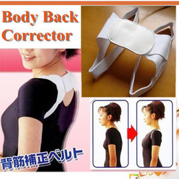 Wholesale Body Support Corrector Back Straightener Body Posture Correction Brace Beauty Body Back Support Shoulder Brace Band Belt
