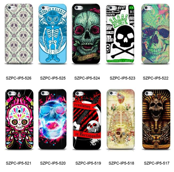 Case Design cute 4s phone cases : Wholesale - for Iphone 5 4 4S Phone Cases Durable Hard Covers Scary ...