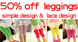 Wholesale Kids leggings new style multi colours cm length size for children girls cotton material tights