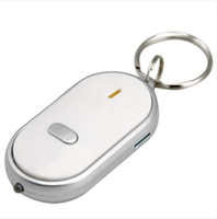 Wholesale Hot sale Whistle Activated KeyFinder LOCATOR with LED Light Amazing Key Finder Keyring