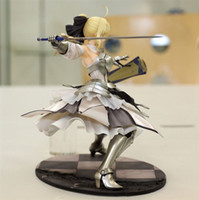 Wholesale Newest Cool Fate Unlimited Codes Saber Lily Scale Painted PVC Action Figure Model